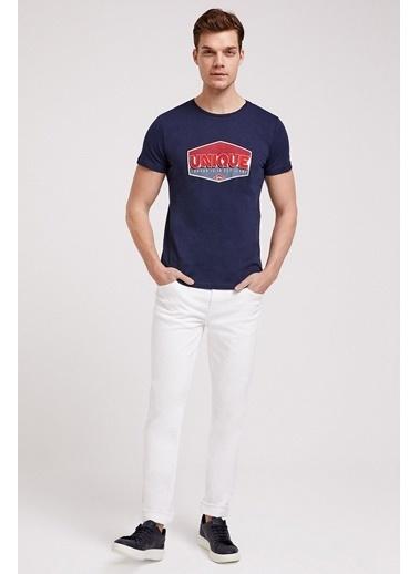 Lee Cooper Lee Cooper 202 LCM 221009 Erkek Jagger Nd 5 Pantolon Beyaz